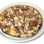 Pizza al horno de piedra